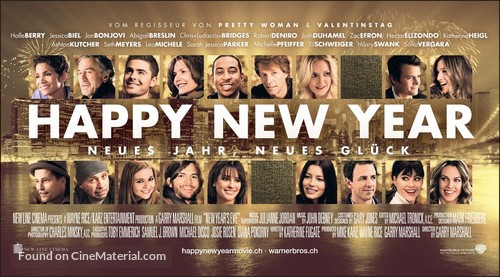 New Year's Eve - Swiss Movie Poster