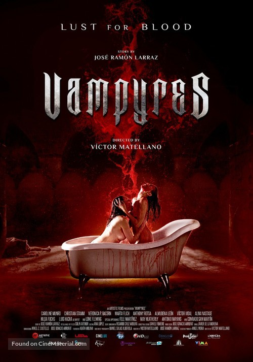 Vampyres - Spanish Movie Poster
