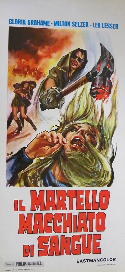 Blood and Lace - Italian Movie Poster
