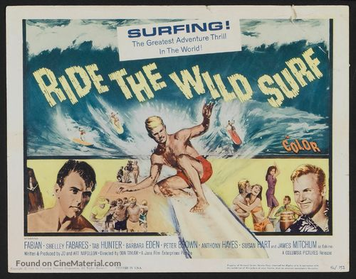 Ride the Wild Surf - Movie Poster
