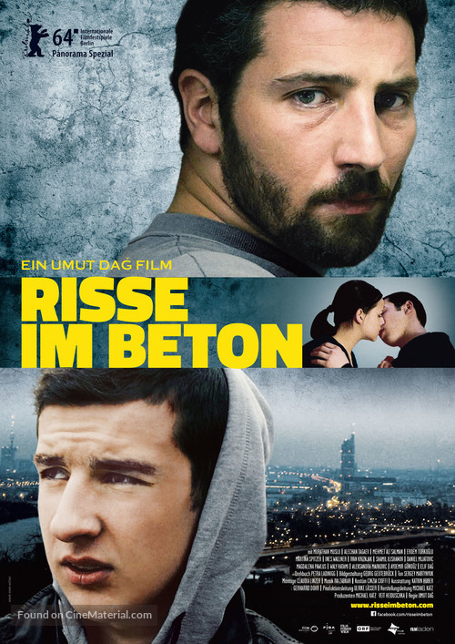 Risse im Beton - Austrian Movie Poster