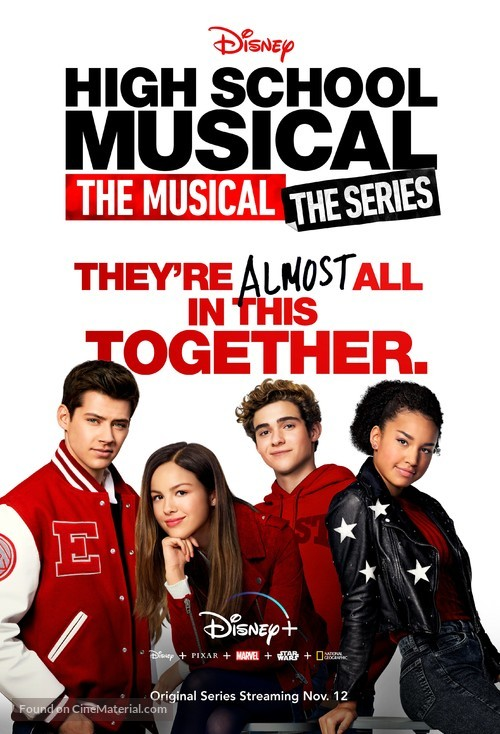 """""""High School Musical: The Musical: The Series"""" - Movie Poster"""