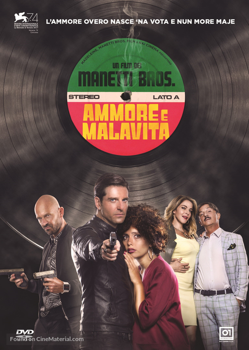 Ammore e malavita - Italian DVD movie cover