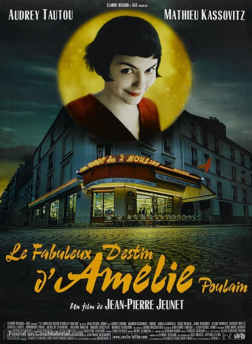 Le fabuleux destin d'Amélie Poulain - French Movie Poster