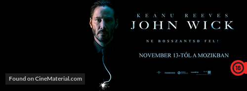 John Wick - Hungarian Movie Cover