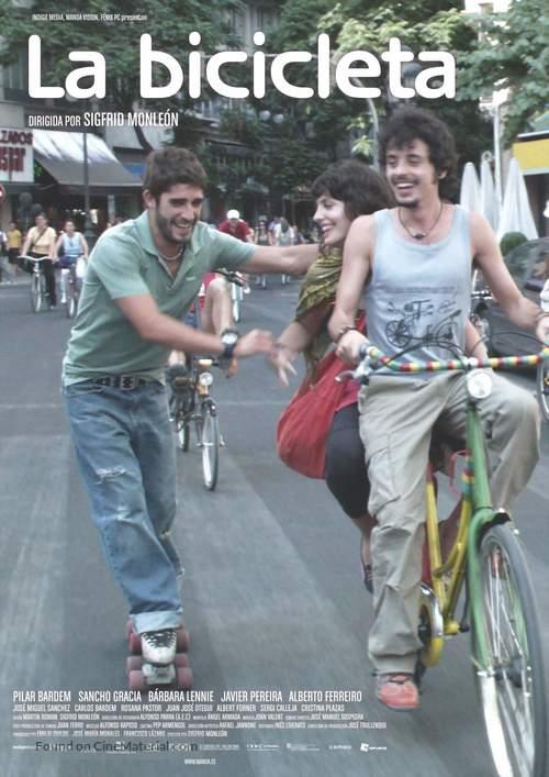 Bicicleta, La - Spanish Movie Poster