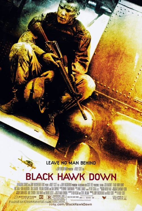 Black Hawk Down - Movie Poster