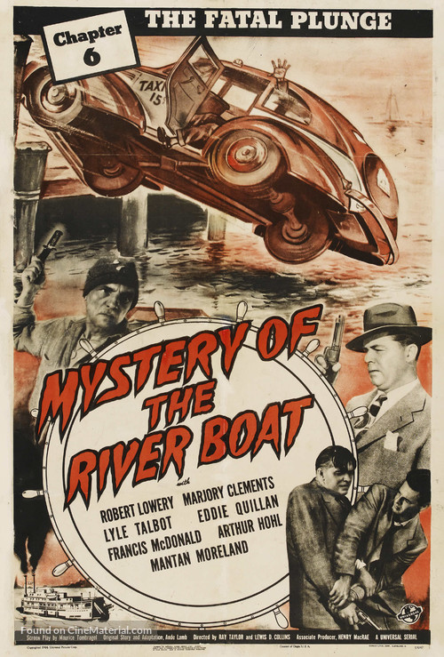 The Mystery Of The Riverboat Movie Poster