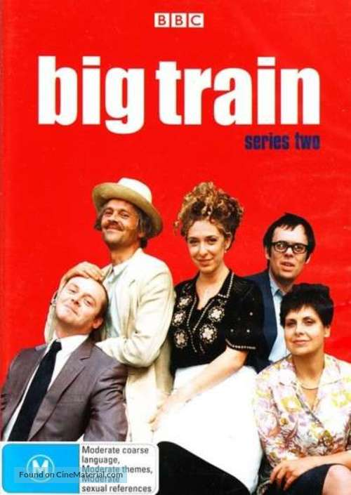 """Big Train"" - Australian DVD movie cover"