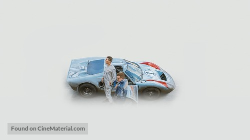Ford v. Ferrari - Key art