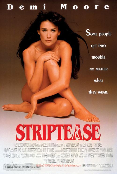 Striptease - Movie Poster