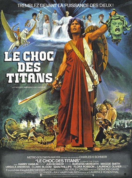 Clash of the Titans - French Movie Poster