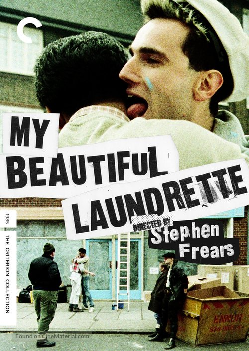 My Beautiful Laundrette - DVD movie cover