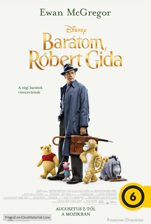 Christopher Robin - Hungarian Movie Poster