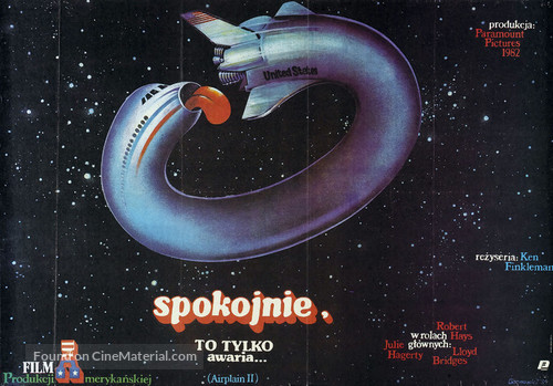 Airplane II: The Sequel - Polish Movie Poster