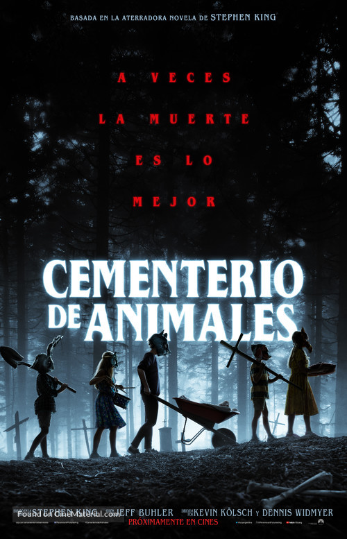 Pet Sematary - Argentinian Movie Poster