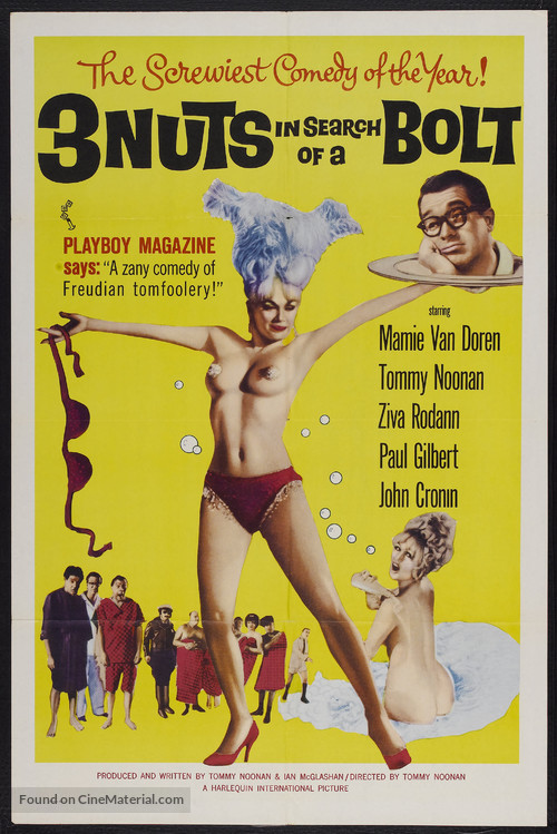 3 Nuts in Search of a Bolt - Movie Poster