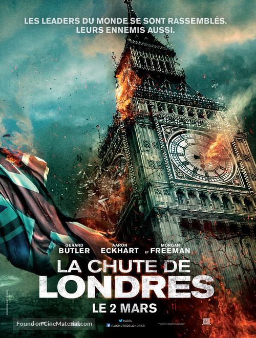London Has Fallen - French Movie Poster