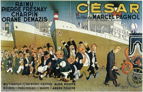 Cèsar - French Movie Poster