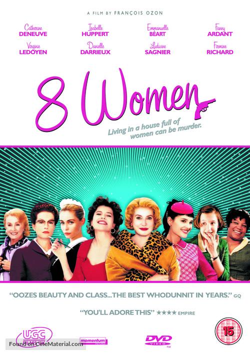 8 femmes - British DVD movie cover