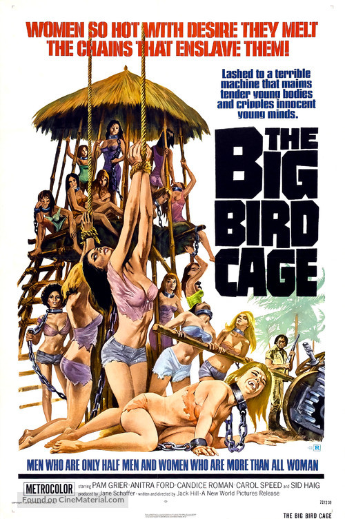 The Big Bird Cage - Theatrical movie poster