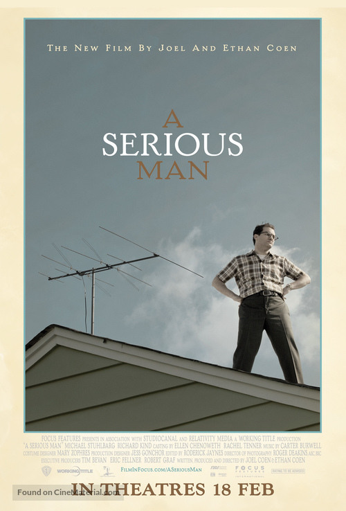 A Serious Man - Singaporean Movie Poster