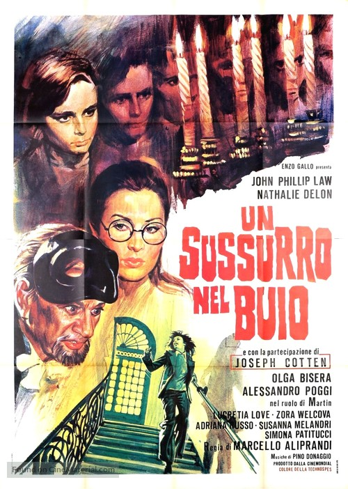 Un sussurro nel buio - Italian Movie Poster