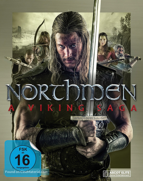 Northmen: A Viking Saga German blu-ray cover