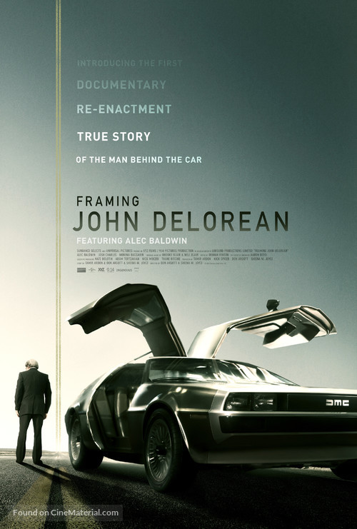 Framing John DeLorean - Movie Poster