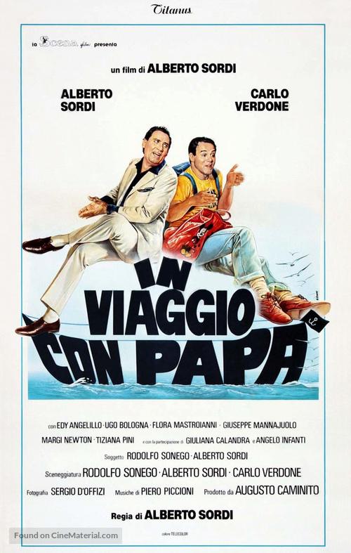 In viaggio con papà - Italian Theatrical poster