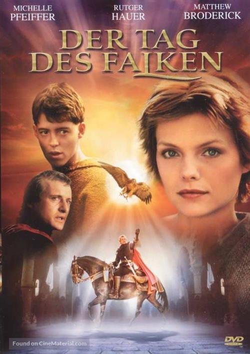 Ladyhawke - German Movie Cover