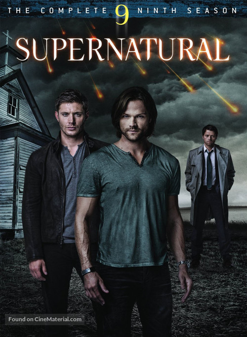 """Supernatural"" - DVD movie cover"