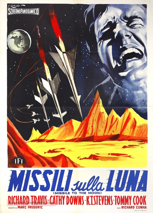 Missile to the Moon - Italian Movie Poster