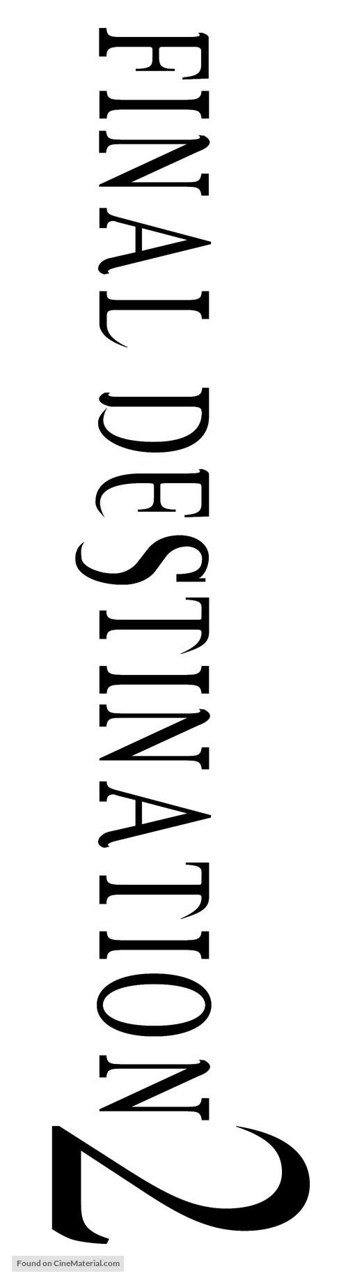 Final Destination 2 - Logo