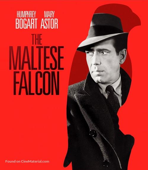 The Maltese Falcon - Blu-Ray cover