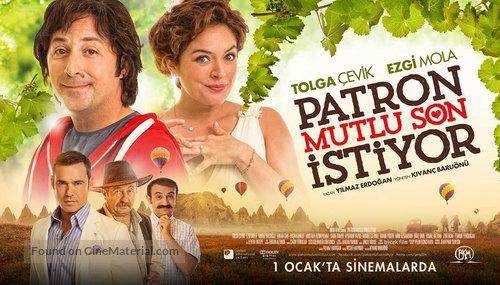 Patron Mutlu Son Istiyor - Turkish Movie Poster
