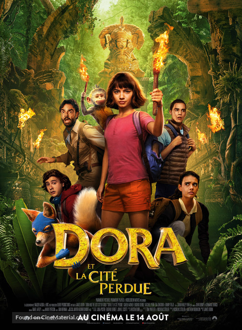 Dora and the Lost City of Gold - French Movie Poster