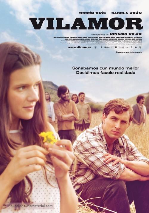 Vilamor - Spanish Movie Poster