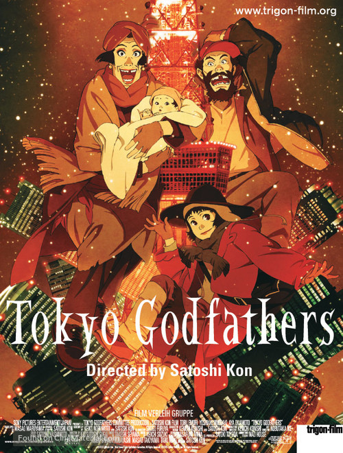 Tokyo Godfathers - Movie Poster