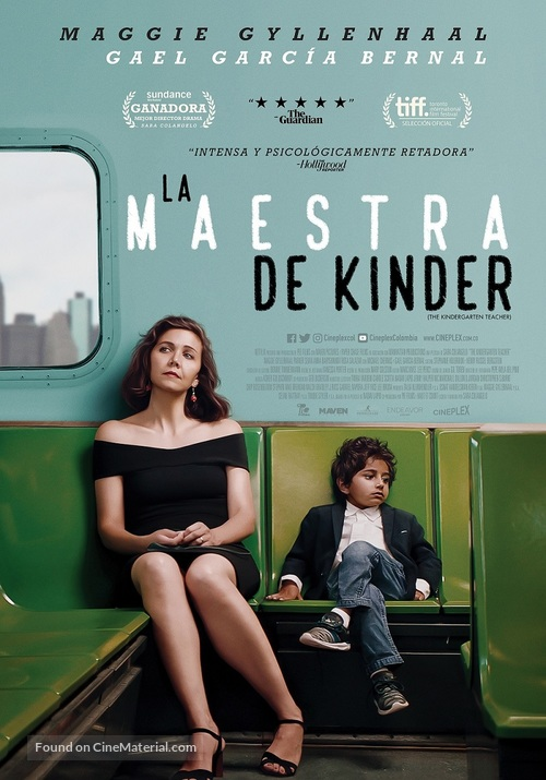 The Kindergarten Teacher - Colombian Movie Poster