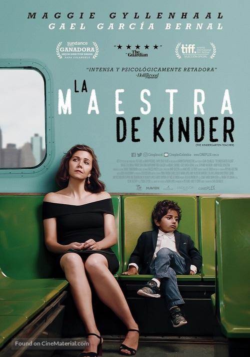 The Kindergarten Teacher - Colombian Movie Poster