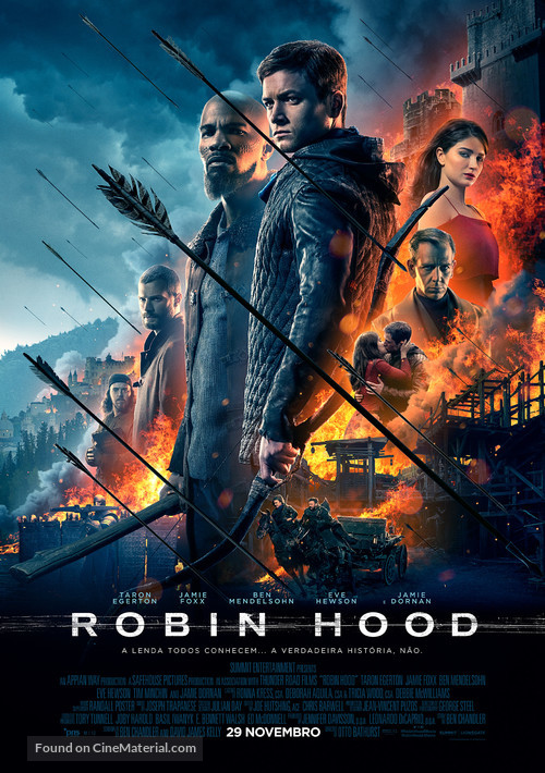 Robin Hood - Portuguese Movie Poster