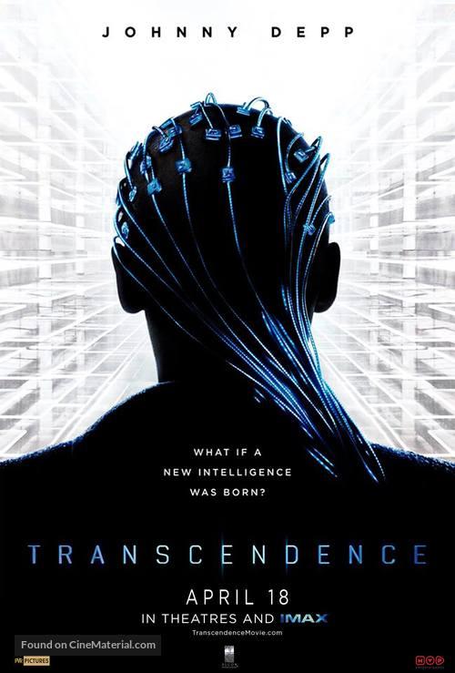 Transcendence - Singaporean Movie Poster