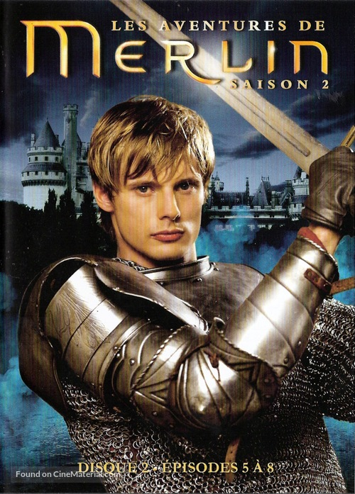 """Merlin"" - French Movie Cover"