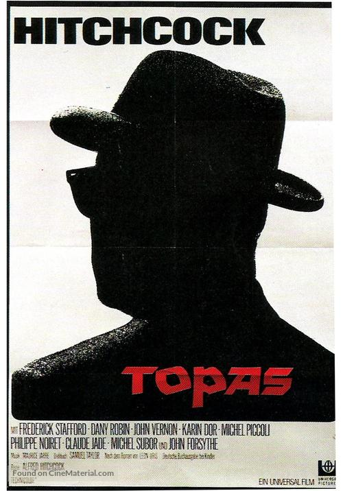 Topaz - German Movie Poster