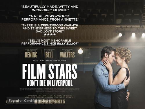 Film Stars Don't Die in Liverpool - British Movie Poster