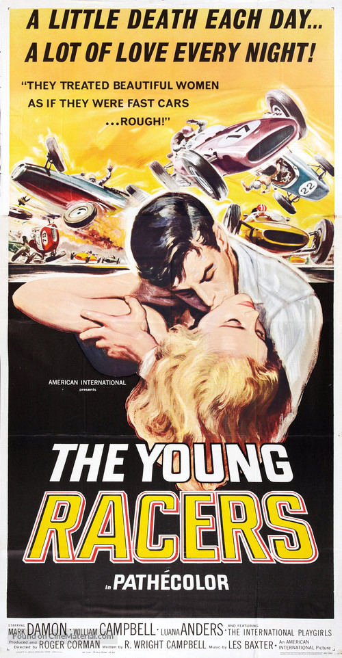 The Young Racers - Movie Poster
