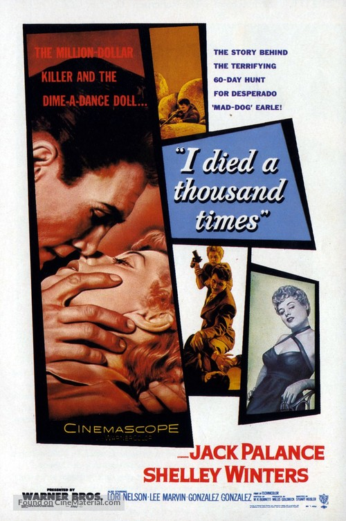 I Died a Thousand Times - Movie Poster