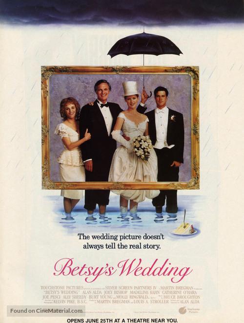 Betsy's Wedding - Movie Poster