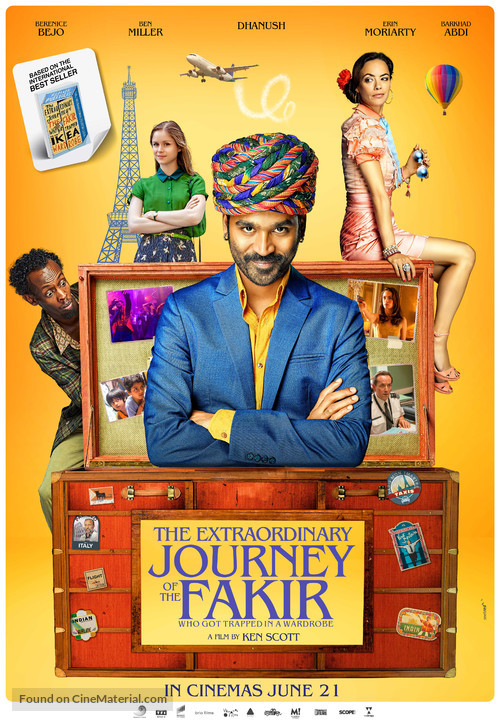 The Extraordinary Journey of the Fakir - Indian Movie Poster